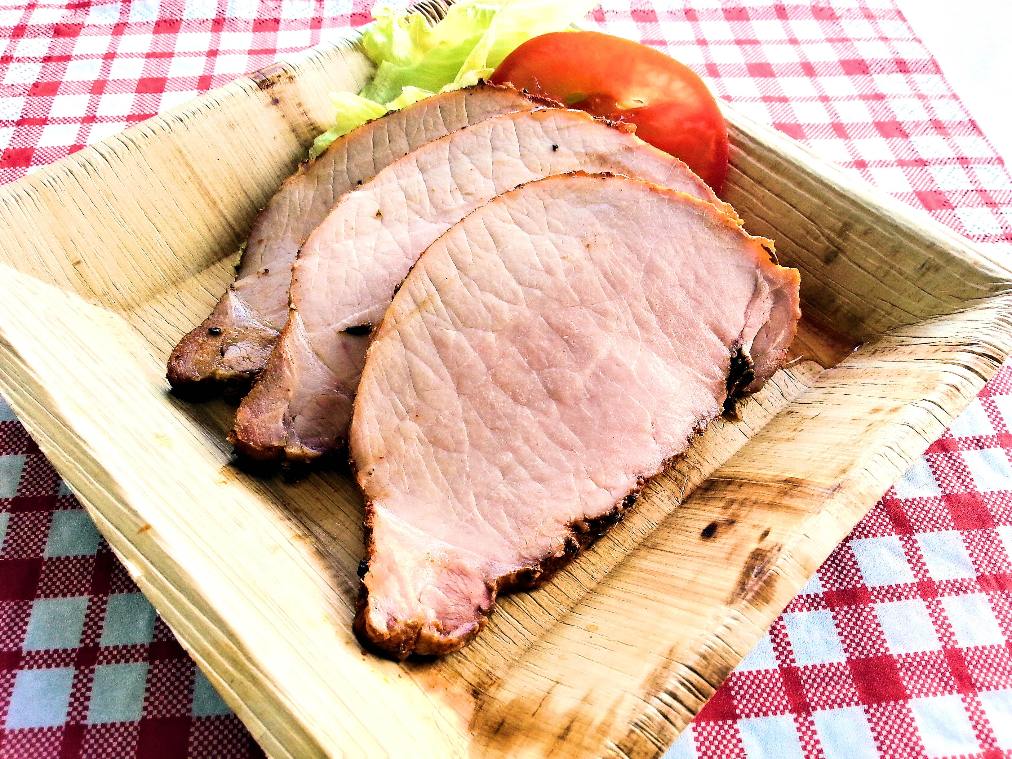 Sweet Tea Pork Loin geschnitten
